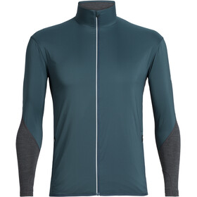 Icebreaker Tech Trainer Hybrid Jacket Herre nightfall/jet heather